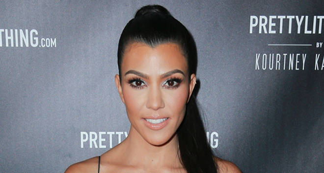 Kourtney Kardashian attends the PrettyLittleThing By Kourtney Kardashian Launch.