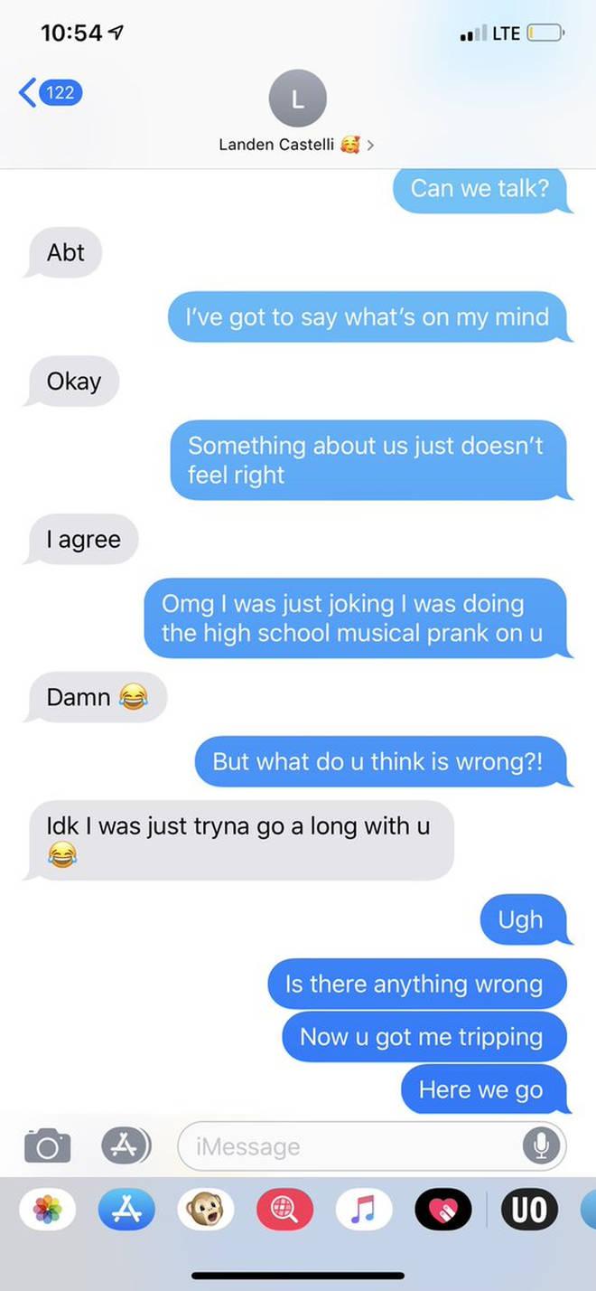 High School Musical challenge