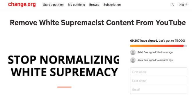 pewdiepie change.org petition