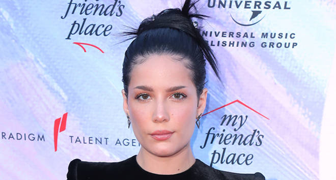 Halsey attends 'Ending Youth Homelessness: A Benefit For My Friend's Place' Gala.