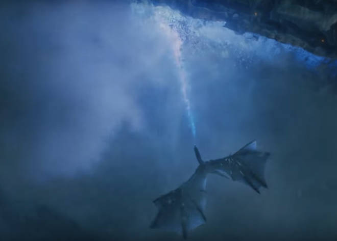 Season 7 concluded with the Night King's zombie dragon crumbling The Wall away