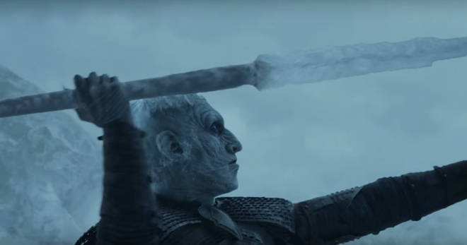 The Night King speared one of Daenerys' dragons, turning it into a Wight Dragon