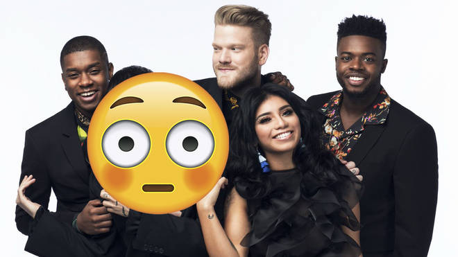 this new pentatonix pic has a weird photoshop fail and it s freaking