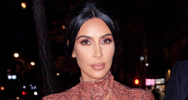 Kim Kardashian is seen on February 7, 2019 in New York City.