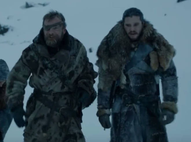 Beric is still alive and recently helped Jon Snow beyond The Wall