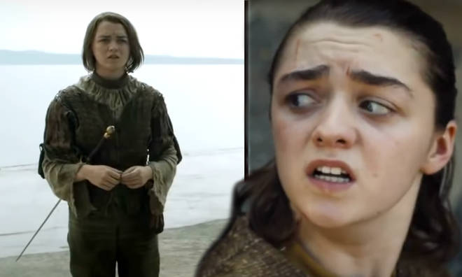 Arya Stark has a long ol' list of people she wants to kill