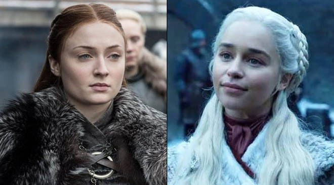 Emilia Clarke has spilled the tea on Daenerys' first meeting with Sansa and Arya