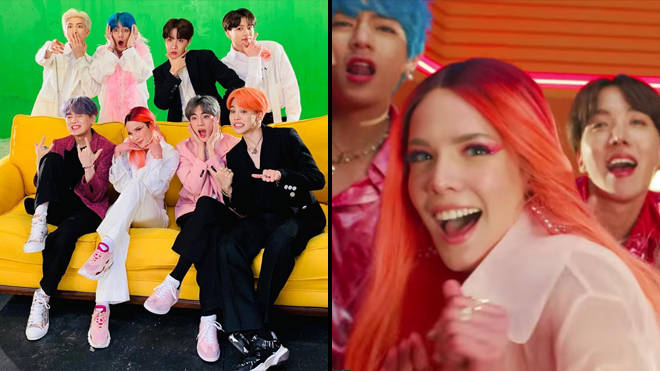 BTS 'Boy With Luv' lyrics - English translation of the Halsey duets
