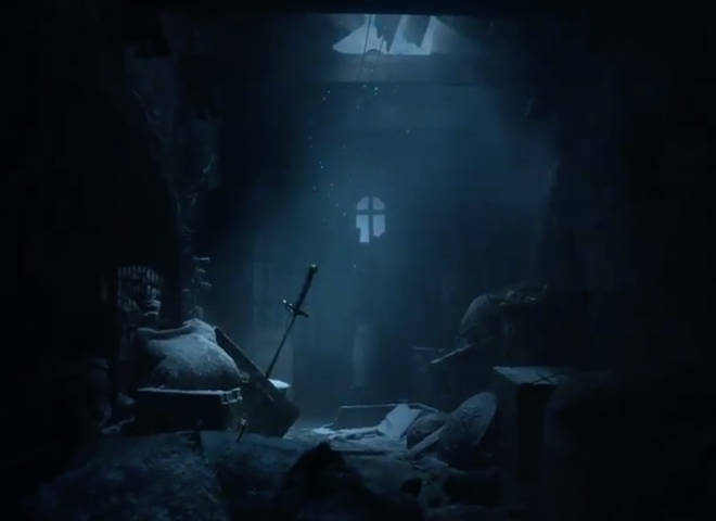 Arya's sword, Needle, is among the abandoned items left at Winterfell in the 'Aftermath' teaser