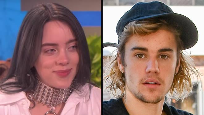 Billie Eilish Finally Met Justin Bieber At Coachella Video Popbuzz