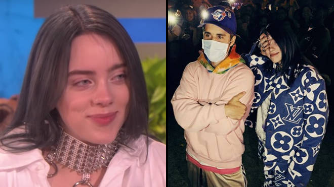Billie Eilish broke down when she finally met Justin Bieber and the video is iconic