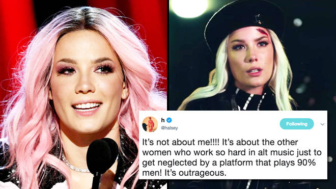Halsey calls out alt radio for sexism after stations refuse to play '11 minutes'
