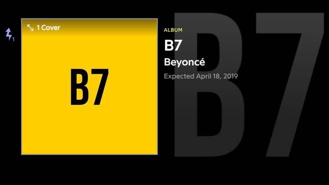 The Beyhive is going into meltdown over the 'B7' rumours