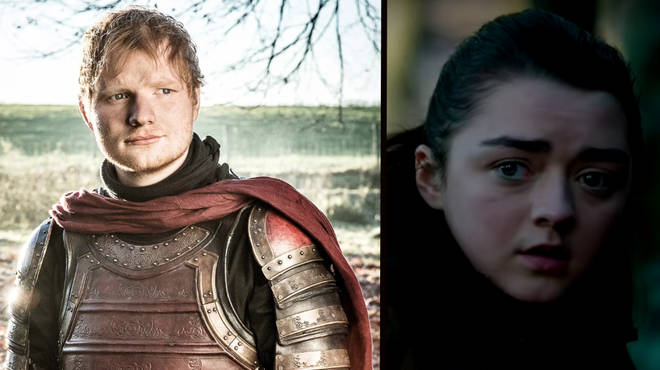 Ed Sheeran had a cameo role in the season 7 premiere, appearing alongside Game of Thrones' Maisie Williams
