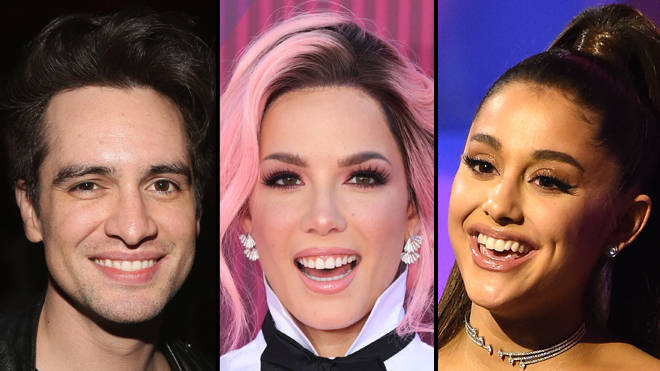 Brendon Urie, Halsey and Ariana Grande are releasing an all-star charity single tonight