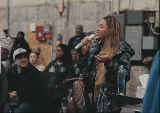 Beyoncé in Homecoming documentary