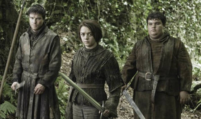 Gendry, Arya and Hot Pie were prisoners together
