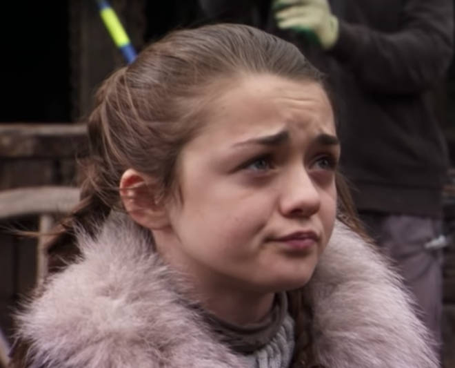 Maisie Williams was 11 when she started playing Arya Stark