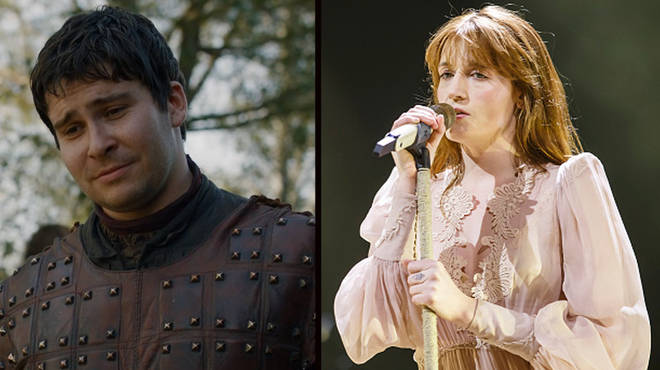 Florence Welch sang the same song Podrick did in the Game of Thrones end credits