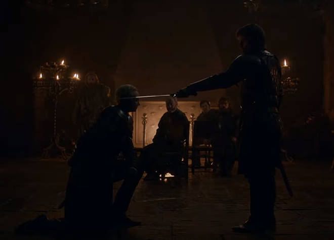Ser Jaime knighted Brienne of Tarth - and it was glorious
