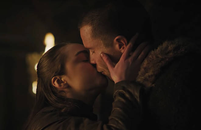 Arya Stark was far from the innocent virgin-type during her sex scene with Gendry
