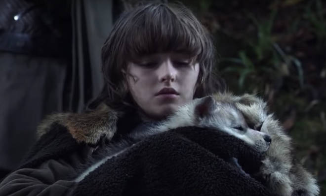 Bran Stark's direwolf was called Summer, but was killed by the Wights