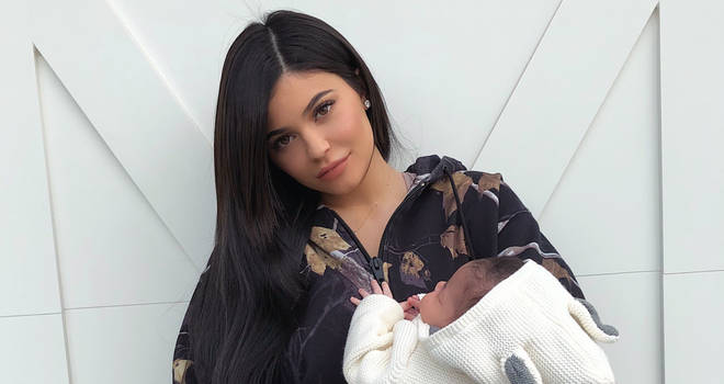 Kylie Jenner Stormi Webster Instagram Reveal