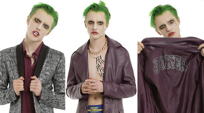 Hart Denton The Joker Cosplay Hot Topic