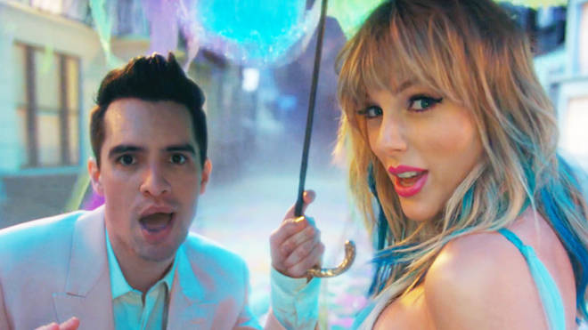 Taylor Swift Brendon Urie Me Video