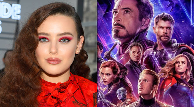 Who does Katherine Langford play in Avengers: Endgame?