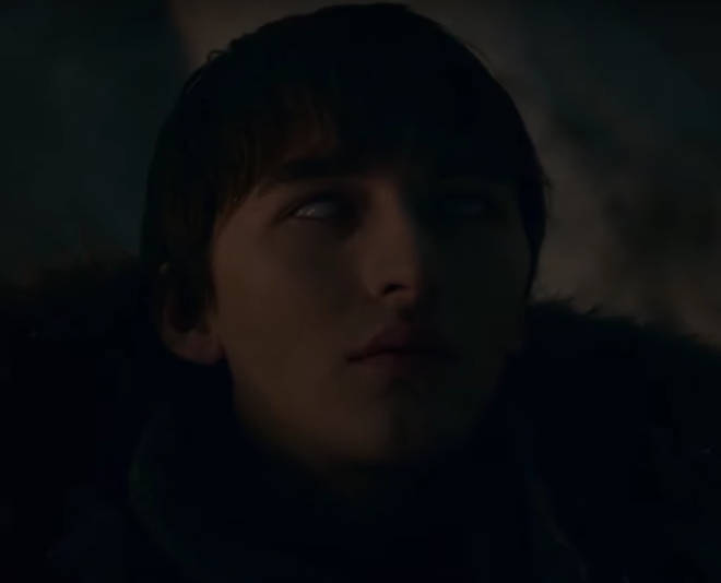 Bran starts warging into his ravens, scouting out the Night King's whereabouts