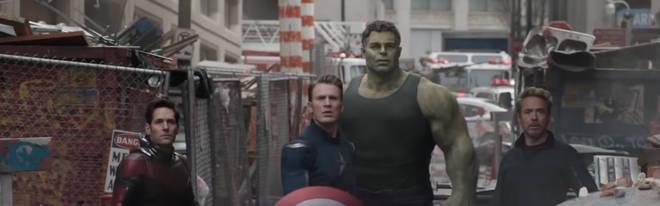 Avengers: Endgame hot Hulk