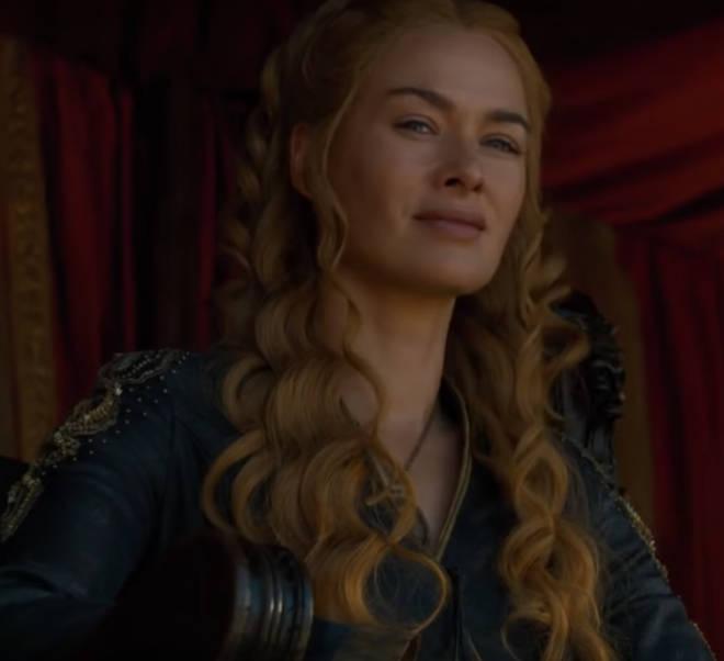 Wait...Cersei Lannister has green eyes!