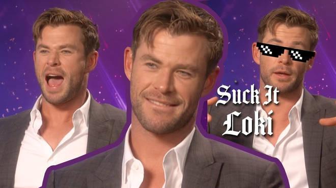 Watch Chris Hemsworth panic as he tries to name every Marvel