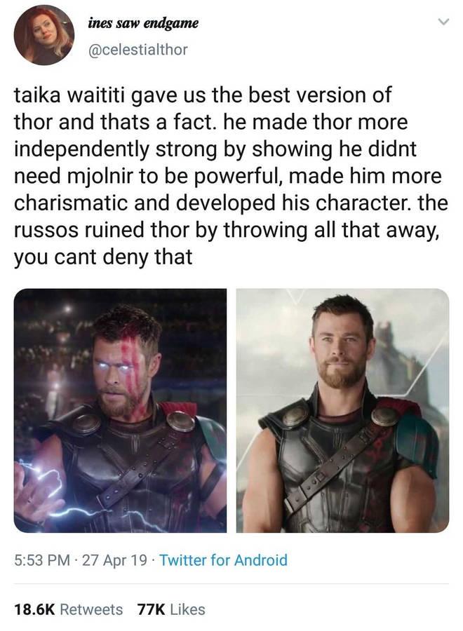Thor reaction
