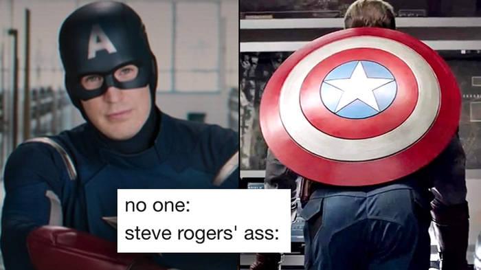 Avengers Endgame: The best Captain America ass memes - PopBuzz