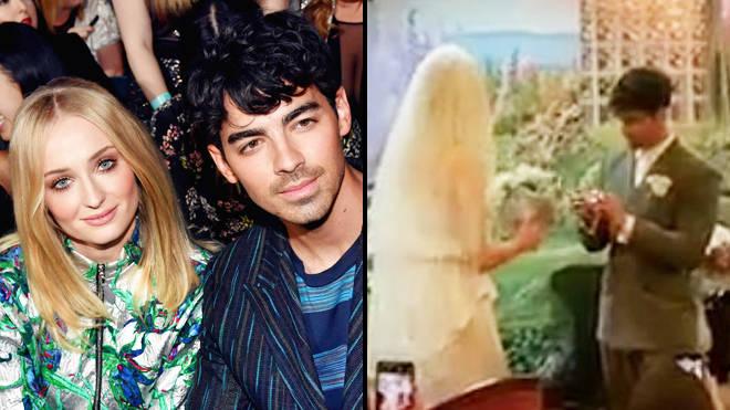 Wedding In Vegas.Sophie Turner And Joe Jonas Get Married In Vegas Wedding Popbuzz