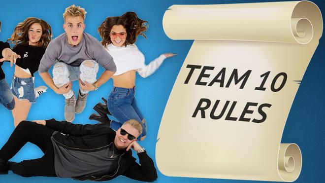 Team 10 rules