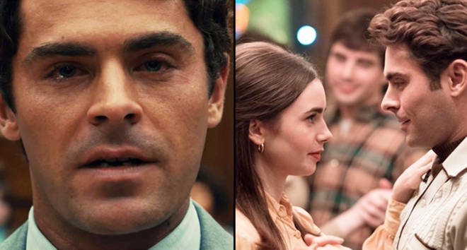Zac Efron as Ted Bundy in 'Extremely Wicked, Shockingly Evil and Vile'.