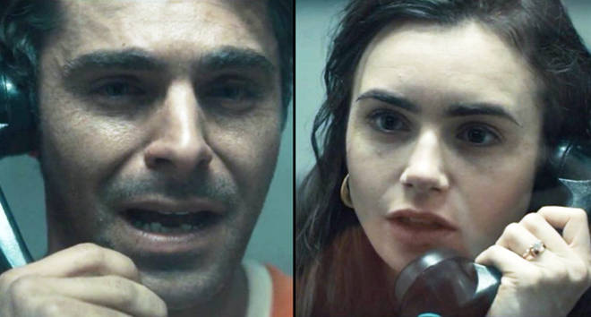 Zac Efron and Lily Collins in 'Extremely Wicked'.