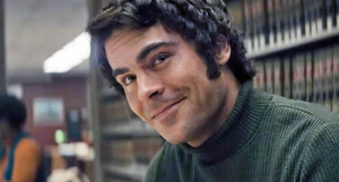Zac Efron as Ted Bundy in 'Extremely Wicked'
