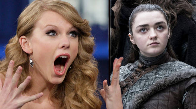 OMG. Taylor Swift just revealed Reputation was inspired by Arya Stark from Game of Thrones