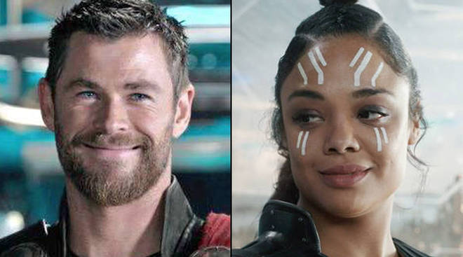 Thor and Valkyrie almost kissed in a deleted Avengers: Endgame scene