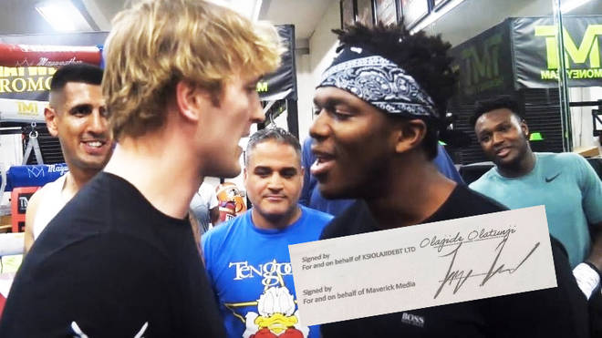 Logan Paul and KSI confirm their boxing match