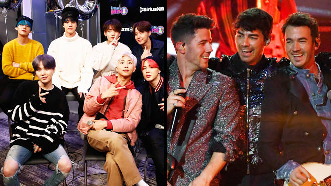 BTS and Jonas Brothers appear to confirm collaboration with The Voice announcement