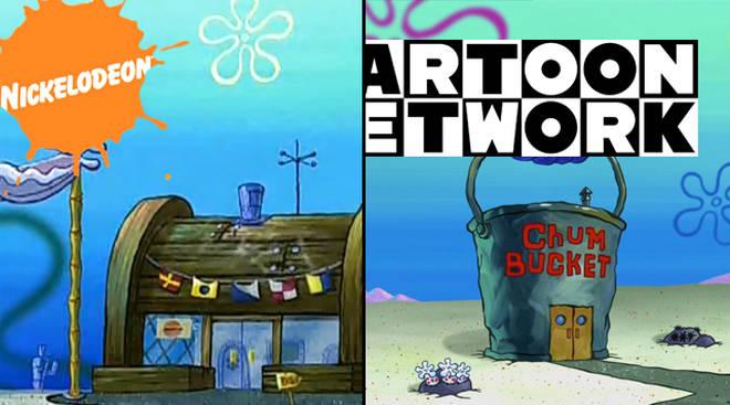 Krusty Krab Chum Bucket Meme