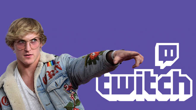 Logan Paul on Twitch