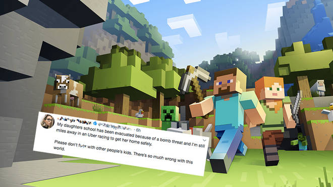 Minecraft bomb threat