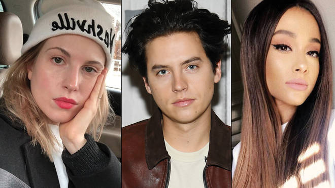 Hayley Williams, Cole Sprouse, Ariana Grande