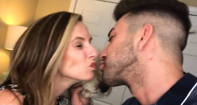 prank invasion kissing my actual mom prank